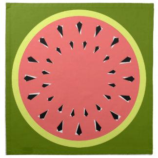 Watermelon Pink napkins cloth