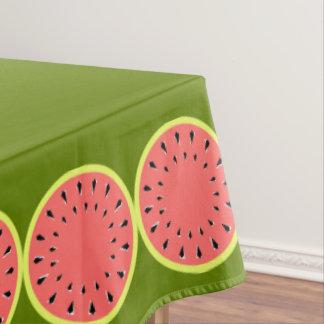 Watermelon Pink tablecloth medium