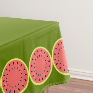 Watermelon Pink tablecloth small