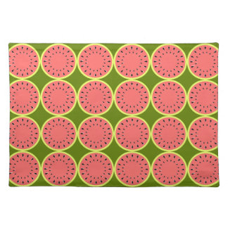Watermelon PinkMulti placemat cloth