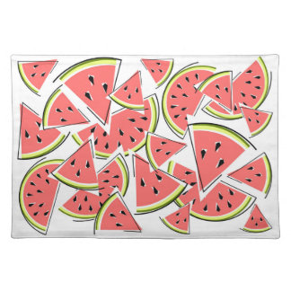 Watermelon placemat cloth