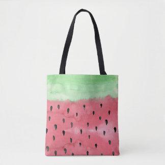 Watermelon Print Tote