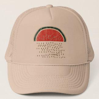 Watermelon Raining Seeds Trucker Hat