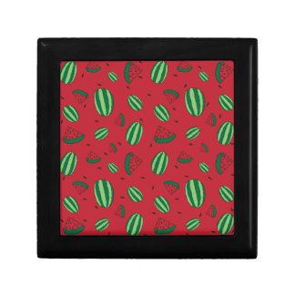 Watermelon Red Pattern Gift Box