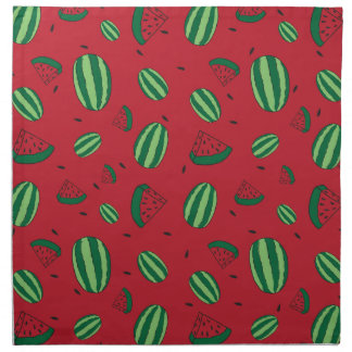 Watermelon Red Pattern Napkin