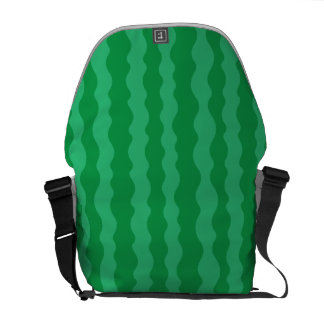 Watermelon Rind Courier Bag