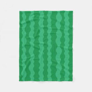 Watermelon Rind Fleece Blanket