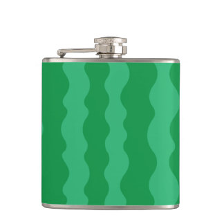 Watermelon Rind Hip Flask