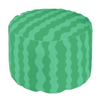 Watermelon Rind Pouf