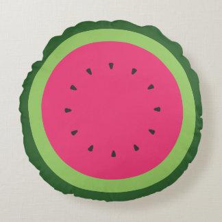 Watermelon Round Pillow