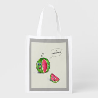 Watermelon shopping bag