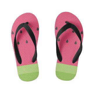 Watermelon SIice Kid's Flip Flops