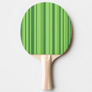 watermelon skin green white Ping-Pong paddle