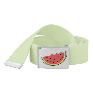 Watermelon Slice belt green