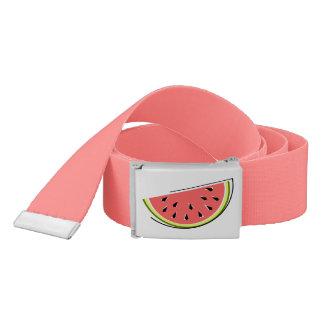 Watermelon Slice belt pink