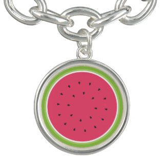 Watermelon Slice Bracelets