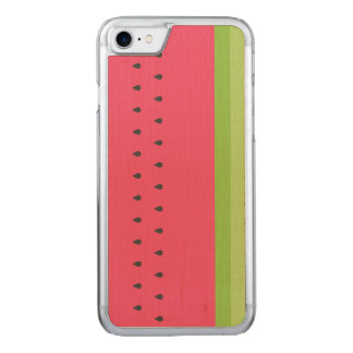 Watermelon Slice Carved iPhone 7 Case