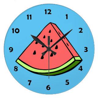 Watermelon Slice Clock