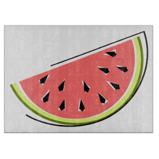 Watermelon Slice cutting board