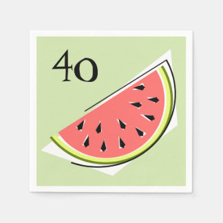 Watermelon Slice Green Age  napkins paper Paper Napkins