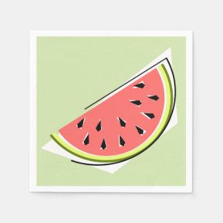 Watermelon Slice Green napkins paper Paper Napkin