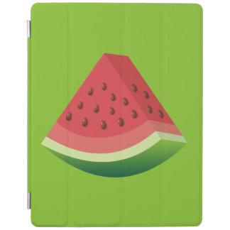 Watermelon slice iPad cover