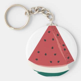 Watermelon Slice Keychain