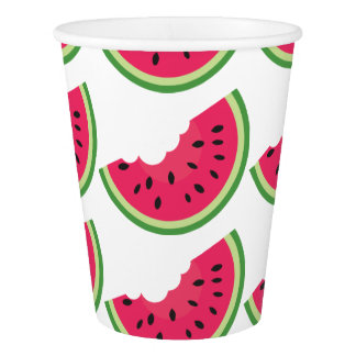 Watermelon Slice Paper Cup