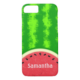 Watermelon Slice Summer Fruit Personalized Cute iPhone 7 Case