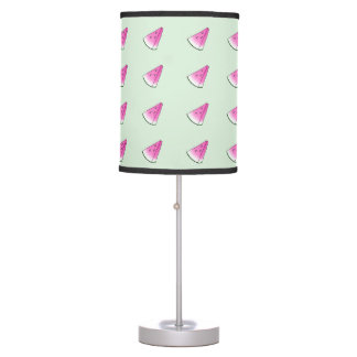 Watermelon slice table lamp