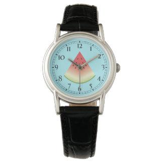 Watermelon Slice Wristwatches