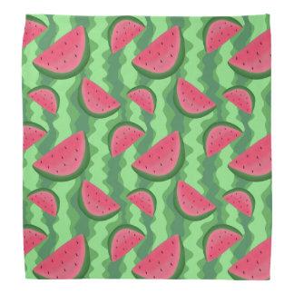 Watermelon Slices Pattern Bandana