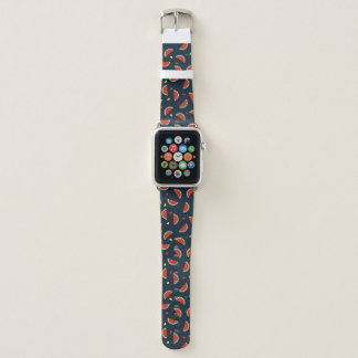 Watermelon Slices with Hearts Pattern Apple Watch Band