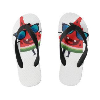 watermelon slippers kid's flip flops