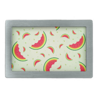 Watermelon Smile Design Belt Buckles