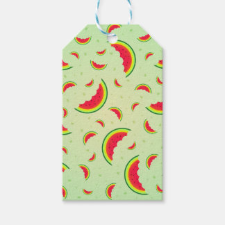 Watermelon Smile Design Gift Tags