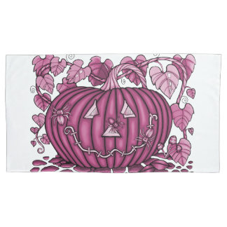 Watermelon Spidery Pumpkin Pillowcase