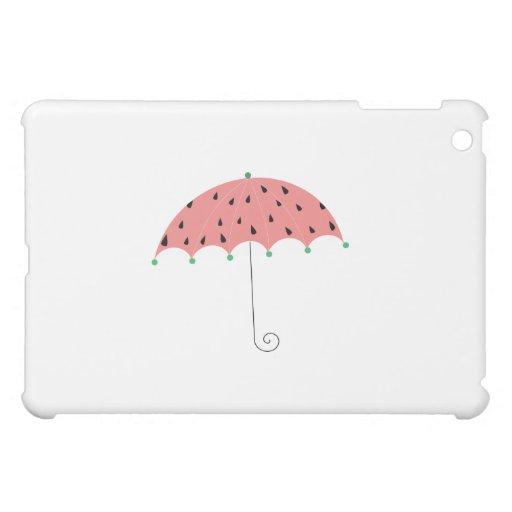 Watermelon Spring Umbrella iPad Mini Cases