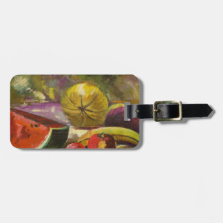 Watermelon Still Life Luggage Tag