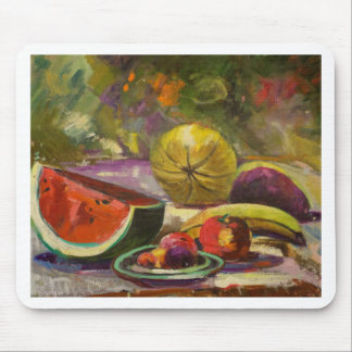 Watermelon Still Life Mouse Pad
