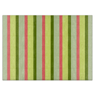 Watermelon Stripe Classic cutting board