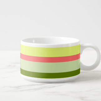 Watermelon Stripe Classic horizontal chili bowl
