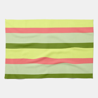 Watermelon Stripe Classic horizontal kitchen towel