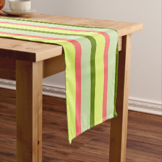 Watermelon Stripe Classic horizontal table runner