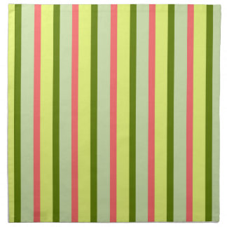 Watermelon Stripe Classic napkins cloth
