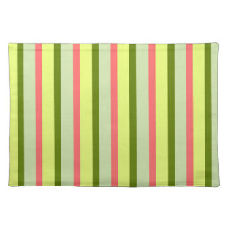 Watermelon Stripe Classic placemat cloth