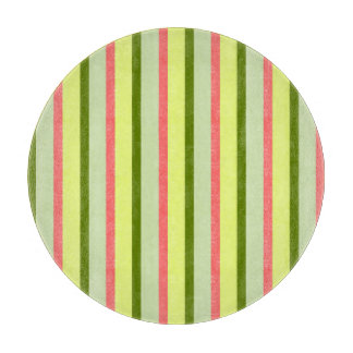 Watermelon Stripe Classic round Cutting Board