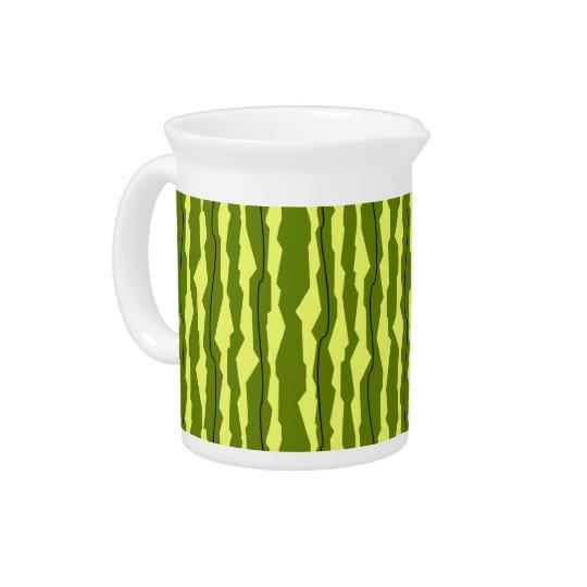 Watermelon Stripe pitcher