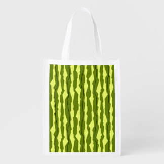 Watermelon Stripe reusable bag