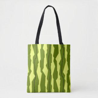 Watermelon Stripe tote bag
